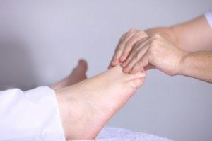 badanie stóp