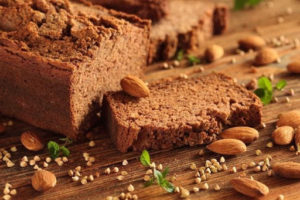 chleb z mąki migdałowej