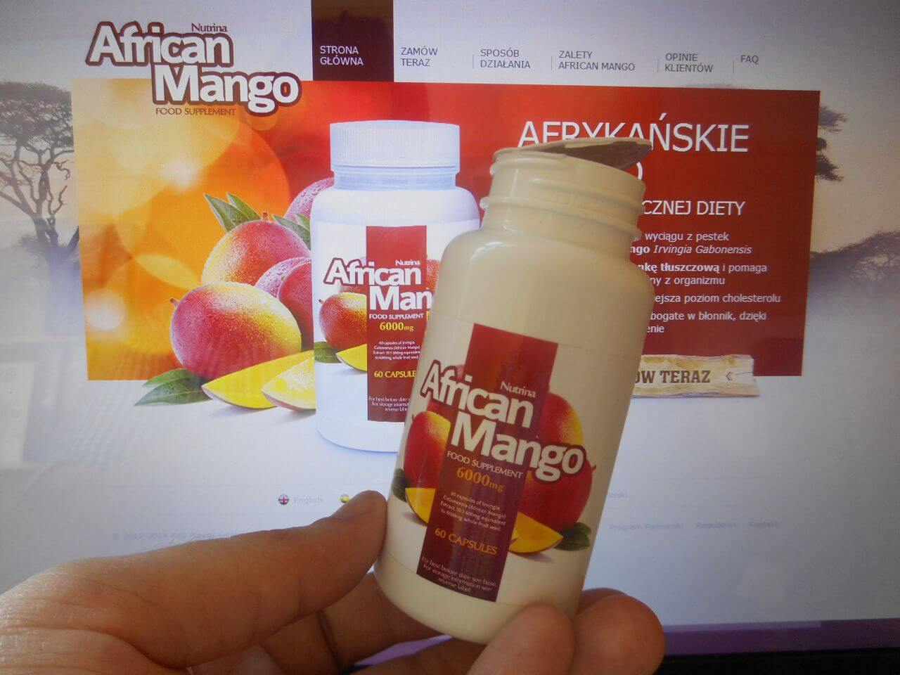 oryginalne kapsułki African Mango