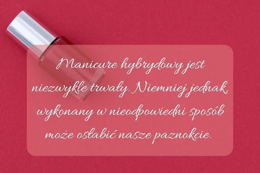 grafika manicure hybrydowy