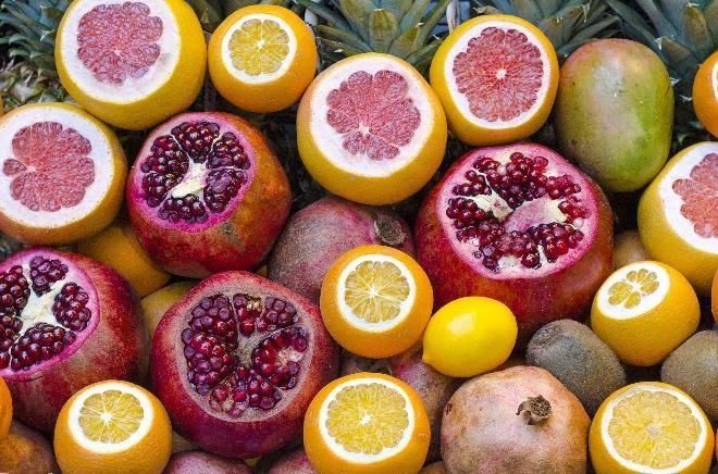 granatt i pomarańcza